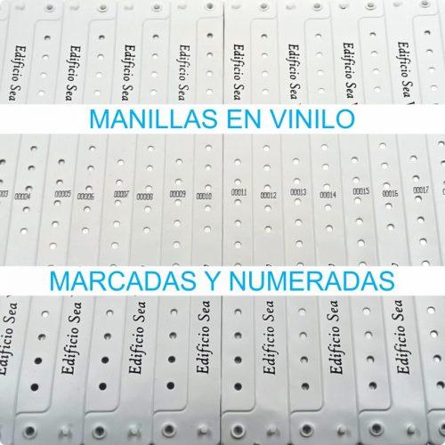 Manillas en vinilo